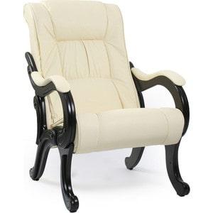 Кресло для отдыха Мебель Импэкс МИ Модель 71 венге, обивка Dundi 112 кресло мебель импэкс ми модель 11 венге каркас венге обивка dundi 112