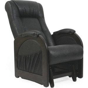 Кресло-качалка глайдер Мебель Импэкс МИ Модель 48 венге без лозы, обивка Dundi 109 кровать раскладная мебель импэкс лаура