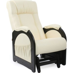 Кресло-качалка глайдер Мебель Импэкс Комфорт Модель 48 венге без лозы, обивка Dundi 112