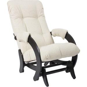 Кресло-качалка глайдер Мебель Импэкс МИ Модель 68 Malta 01 А набор одноразовых стаканов buffet biсolor цвет оранжевый желтый 200 мл 6 шт
