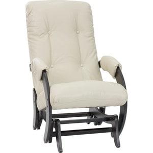 Кресло-качалка глайдер Мебель Импэкс Комфорт Модель 68 венге, Polaris Beige