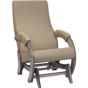 Кресло-качалка глайдер Мебель Импэкс МИ Модель 68М венге, Malta 03 А кресло качалка мебель импэкс ми модель 67 malta 03 а