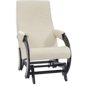 Кресло-качалка глайдер Мебель Импэкс Комфорт Модель 68М венге, Polaris Beige