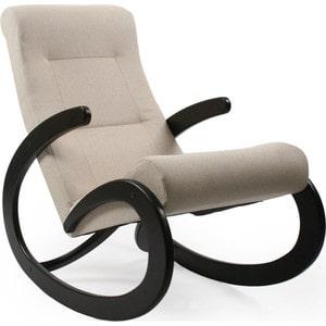 Кресло-качалка Мебель Импэкс МИ Модель 1 венге, обивка Malta 01 А кресло качалка мебель импэкс ми модель 67 malta 03 а