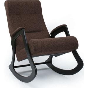 Кресло-качалка Мебель Импэкс МИ Модель 2 венге, обивка Malta 15 А кресло качалка мебель импэкс ми модель 67 malta 03 а