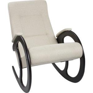 Кресло-качалка Мебель Импэкс МИ Модель 3 венге, обивка Malta 01 А кресло качалка мебель импэкс ми модель 67 malta 03 а