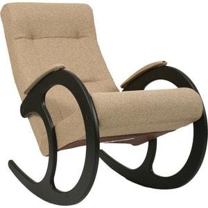 Кресло-качалка Мебель Импэкс МИ Модель 3 венге, обивка Malta 03 А кресло качалка мебель импэкс ми модель 67 malta 03 а