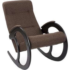 Кресло-качалка Мебель Импэкс МИ Модель 3 венге, обивка Malta 15 А кресло качалка мебель импэкс ми модель 67 malta 03 а