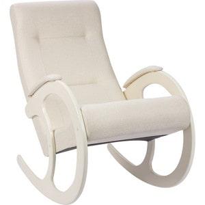 Кресло-качалка Мебель Импэкс МИ Модель 3 дуб шампань, обивка Malta 01 А кресло качалка мебель импэкс ми модель 67 malta 03 а