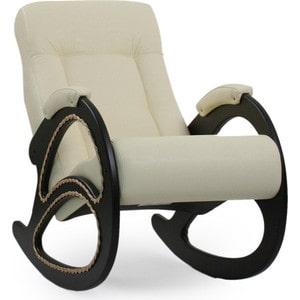Кресло-качалка Мебель Импэкс МИ Модель 4 венге, обивка Dundi 112 кресло мебель импэкс ми модель 11 венге каркас венге обивка dundi 112