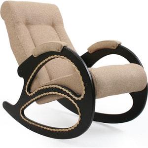 Кресло-качалка Мебель Импэкс МИ Модель 4 венге, обивка Malta 03 А кровать раскладная мебель импэкс лаура