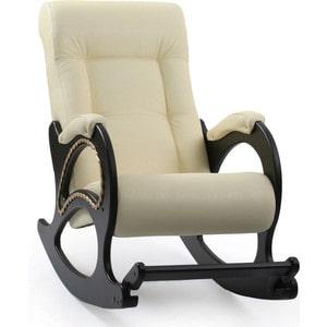 Кресло-качалка Мебель Импэкс МИ Модель 44 венге, обивка Dundi 112 кресло мебель импэкс ми модель 11 венге каркас венге обивка dundi 112
