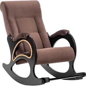 Кресло-качалка Мебель Импэкс Комфорт Модель 44 венге, обивка Verona Brown