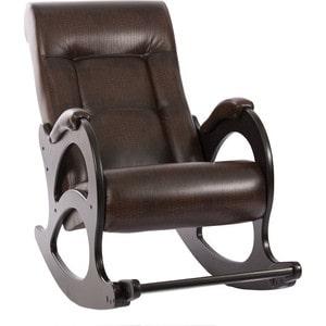 Кресло-качалка Мебель Импэкс МИ Модель 44 б/л венге, обивка Antik crocodile кровать раскладная мебель импэкс лаура