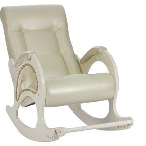 Кресло-качалка Мебель Импэкс МИ Модель 44 дуб шампань, обивка Oregon perlamutr 106 кровать раскладная мебель импэкс лаура