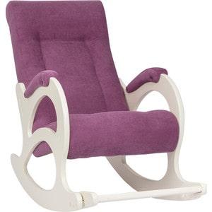 Кресло-качалка Мебель Импэкс МИ Модель 44 б/л дуб шампань, обивка Verona cyklam мебель для спальни модульная мебель композиция 10 б