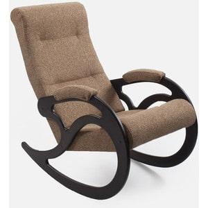 Кресло-качалка Мебель Импэкс МИ Модель 5 венге, обивка Malta 17 кресло качалка мебель импэкс ми модель 5 каркас венге с лозой обивка malta 15а