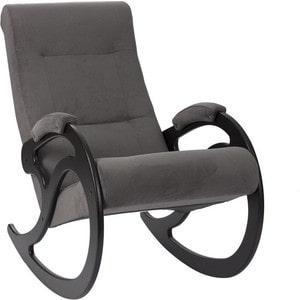 Кресло-качалка Мебель Импэкс Комфорт Модель 5 венге, обивка Verona Antazite Grey