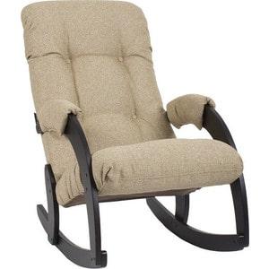 Кресло-качалка Мебель Импэкс Комфорт Модель 67 венге, malta 03
