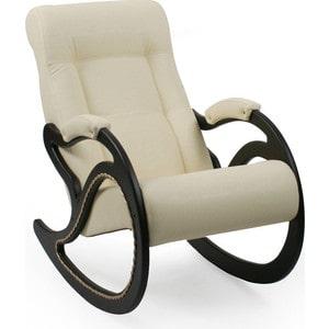Кресло-качалка Мебель Импэкс МИ Модель 7 венге, обивка Dundi 112 кресло мебель импэкс ми модель 11 венге каркас венге обивка dundi 112