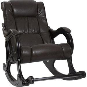 Кресло-качалка Мебель Импэкс Комфорт Модель 77 венге, обивка Vegas lite amber