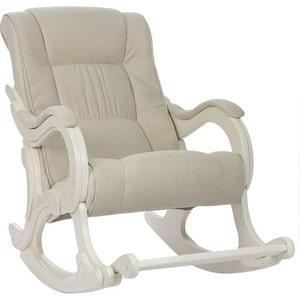 Кресло-качалка Мебель Импэкс Комфорт Модель 77 дуб шампань, обивка Verona Vanilla