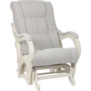 Кресло-качалка Мебель Импэкс МИ Модель 78 дуб шампань, обивка Verona Light Grey подставка мебель импэкс ми джульетта дуб шампань