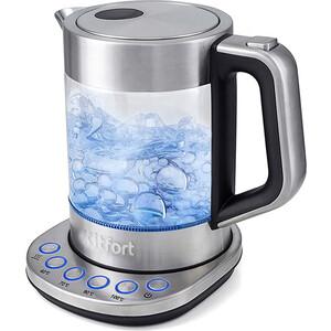 Чайник электрический KITFORT KT-616 kitfort kt 602 7 silver gray электрический чайник
