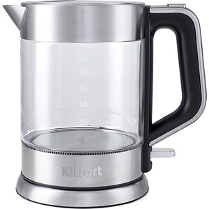 Чайник электрический KITFORT KT-617 kitfort kt 602 7 silver gray электрический чайник