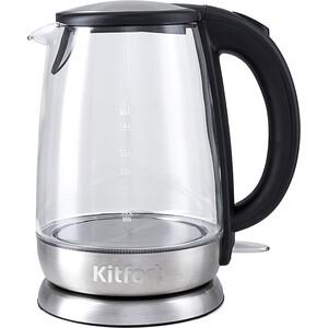 Чайник электрический KITFORT KT-619 kitfort kt 602 7 silver gray электрический чайник