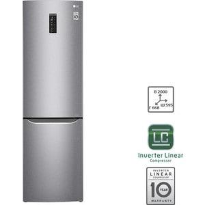 Холодильник LG GA-B499SMKZ стеллаж лодка брак