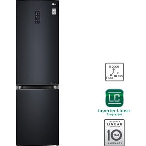 Холодильник LG GA-B499TGLB холодильник lg ga b499ymqz silver