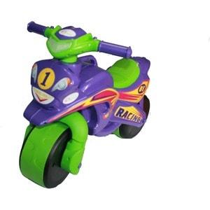 Байк без музыки DOLONI Sport фиолетовый/зеленый (0138/60)
