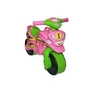 Байк музыкальный DOLONI Sport розовый/зеленый (0139/3) байк музыкальный doloni sport голубой желтый 0139 1