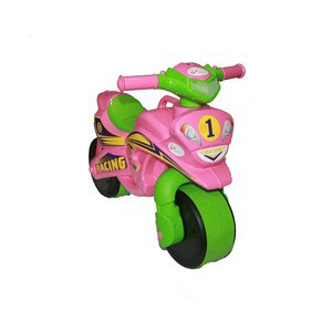 Байк без музыки DOLONI Sport розовый/зеленый (0138/30)