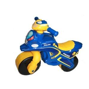 Байк без музыки DOLONI Полиция синий/желтый (0138/570)
