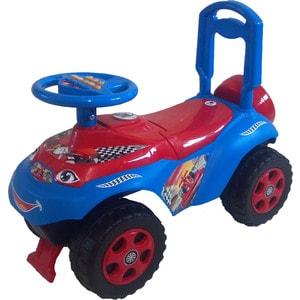 Машинка для катания DOLONI Автошка с музыкальным рулем красный/синий (0118/12) машинка для катания doloni автошка с музыкальным рулем голубой зеленый 0118 06