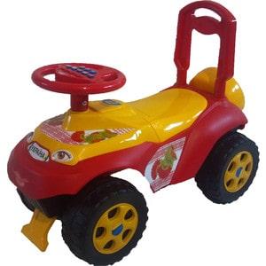 Машинка для катания DOLONI Автошка без музыки красный (0119/05)