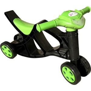 Минибайк для катания детей без звука DOLONI зеленый/черный 0136/02 (0136/02)