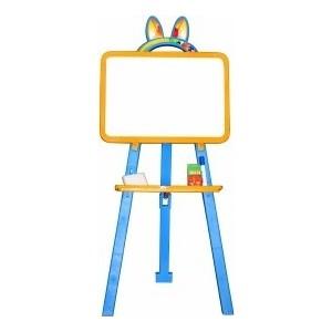 Мольберт для рисования DOLONI магнитный желто-синий ( 013777/01)
