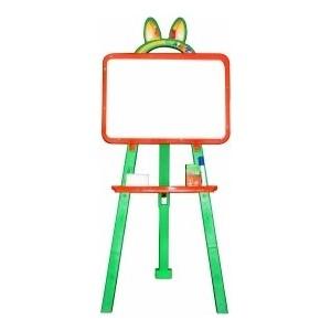 Мольберт для рисования DOLONI магнитный оранжево-салатовый ( 013777/04)