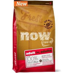 Сухой корм NOW FRESH Dog Adult Grain Free Lamb, Venison & Pork беззерновой с ягненком, олениной и свининой для собак 11,35кг (10334) now grain free
