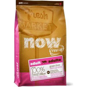 Сухой корм NOW FRESH Cat Adult Grain Free Turkey, Salmon & Duck беззерновой с индейкой, лососем, уткой и овощами для кошек 3,63кг (20043)