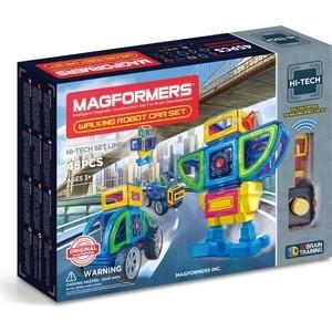 Магнитный конструктор Magformers Walking Robot Car Set 45 (709008) magformers magformers magformers r c custom set 63091