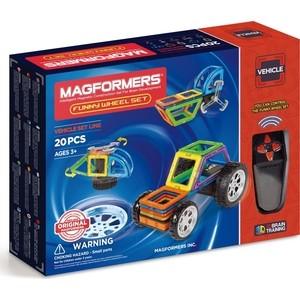 Магнитный конструктор Magformers Funny Wheel Set 20 (707012) конструкторы magformers магнитный pastelle 14 63096