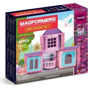 Магнитный конструктор Magformers Mini House Set 42 (705005) mini massager set