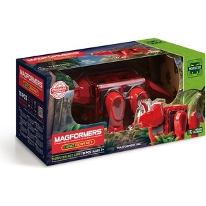 Магнитный конструктор Magformers Dino Cera set (716002 ) конструкторы magformers магнитный pastelle 14 63096