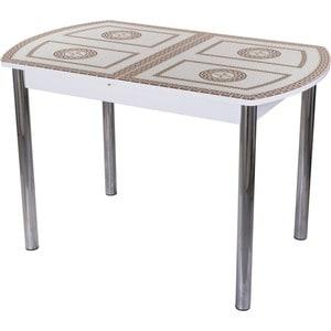 Стол со стеклом Домотека Гамма ПО (БЛ ст-71 02)