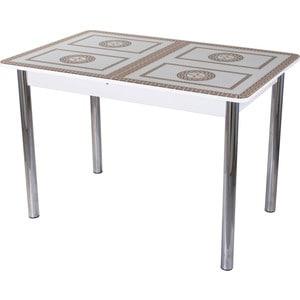 Стол со стеклом Домотека Гамма ПР (-1 БЛ ст-71 02) tyumen battery 6 ст 60 пр