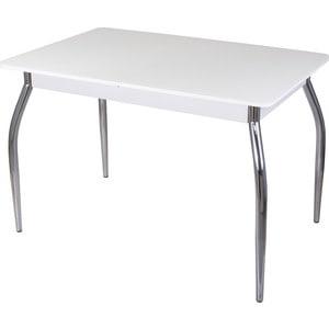 Стол со стеклом Домотека Гамма ПР (-1 БЛ ст-БЛ 01)